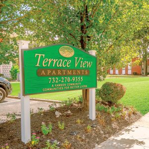 Terrace View Welcome